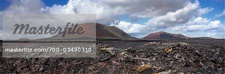 Volcanic Landscape, Lanzarote, Canary Islands, Spain