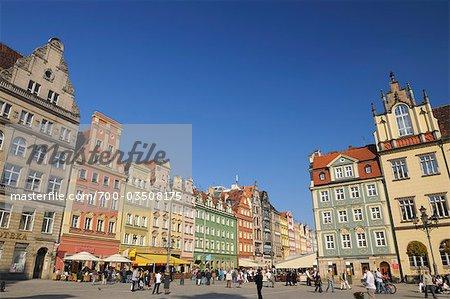 Main Square, Wroclaw, Lower Silesian Voivodeship, Poland