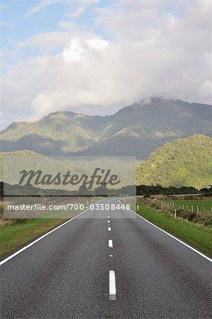 Whataroa Highway, West Coast, South Island, New Zealand