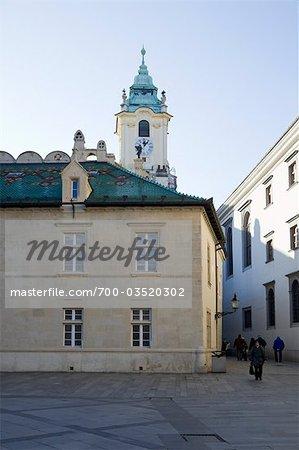 Old Town Hall and Primate's Palace, Bratislava, Slovakia