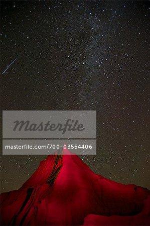 Milky Way Over Dinosaur Provincial Park, Alberta, Canada