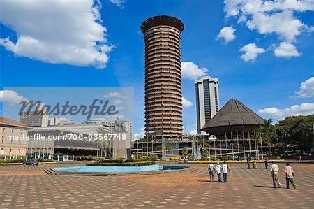Jomo Kenyatta Statue and Conference Centre, Nairobi, Kenya