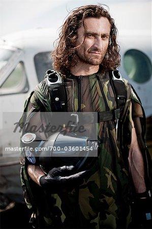 Portrait of Skydiver