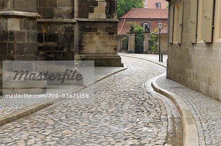 Old Town, Halberstadt, Harz District, Harz, Saxony Anhalt, Germany