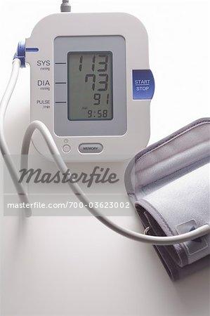 Still Life of Blood Pressure Monitor