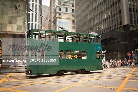 Ding Ding, Hong Kong Tramways, Hong Kong Island, Hong Kong, China