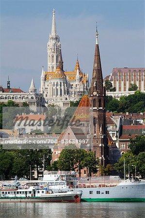 Matthias Church, Castle District, Buda, Budapest, Hungary