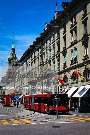 Street Scene, Bern, Switzerland