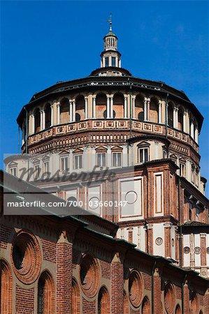 Santa Maria delle Grazie, Milan, Province of Milan, Lombardy, Italy