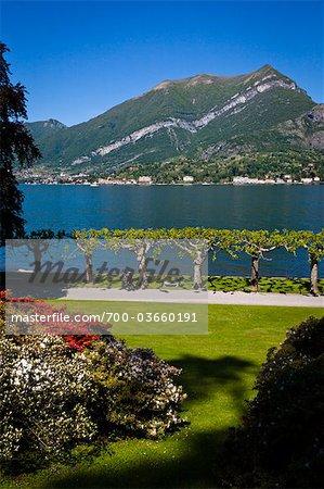 Gardens of Villa Melzi, Bellagio, Lake Como, Province of Como, Lombardy, Italy