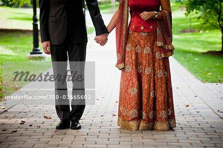 Hindu Bride and Groom