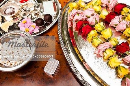 Ceremonial Flowers for Hindu Wedding