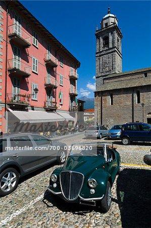 Classic Car, Bellagio, Lombardy, Italy