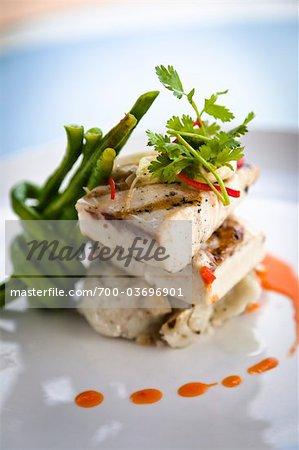 Grilled Spanish mackerel at Nihiwatu resort, Sumba, Indonesia