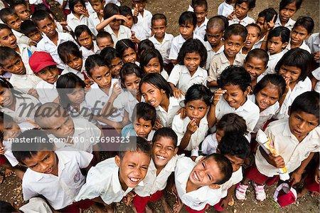 Children at Larawatu School, Sumba, Indonesia