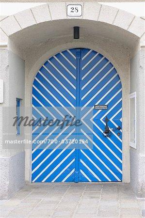 Door, Waidhofen an der Ybbs, Lower Austria, Austria