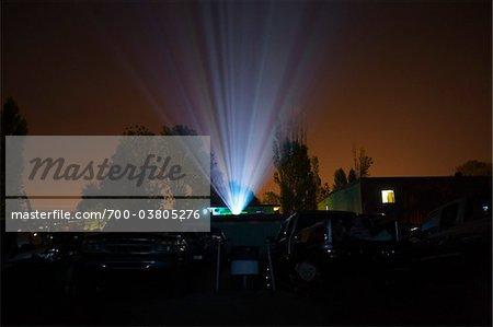 Drive-in Movie Theater, Newberg, Oregon, USA