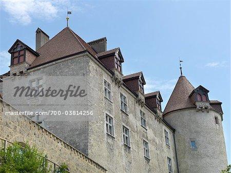 Chateau de Gruyeres, Gruyeres, Canton of Fribourg, Switzerland