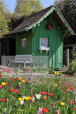 Green Garden House, Meersburg, Baden-Wurttemberg, Germany