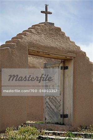 San Jose de Gracia Church, Las Trampas, New Mexico, USA