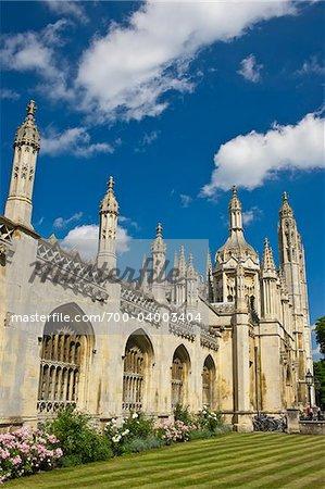 King's College and King's College Chapel, University of Cambridge, Cambridge, England