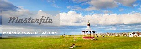 Bandstand on Playing Fields by Sea, Nairn, Highland Region, Scotland, United Kingdom