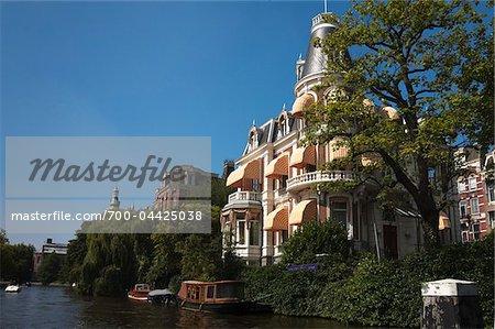Mansion along Spiegelgracht, Amsterdam, Netherlands