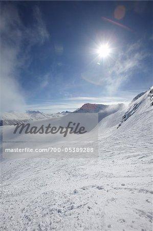 Sun and Mountains, Whistler Mountain, Whistler, British Columbia, Canada