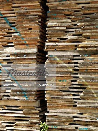 Stacks of Pallets