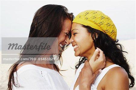 Couple Nuzzling