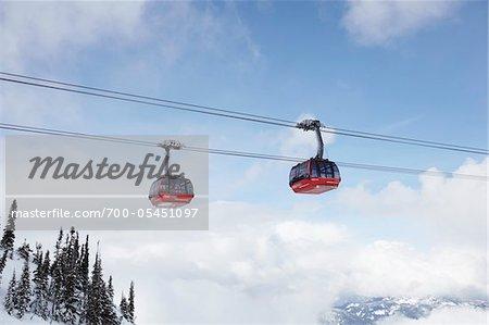 Gondola, Whistler, British Columbia, Canada