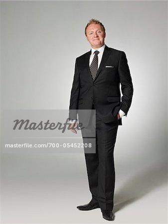 Businessman in Studio
