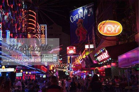Soi Cowboy Red-Light District, Bangkok, Thailand