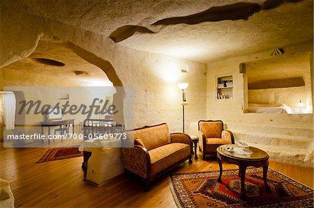 Suite in Esbelli Evi Cave Hotel, Urgup, Cappadocia, Turkey