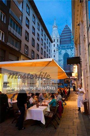 Alfresco Dining, Vienna, Austria
