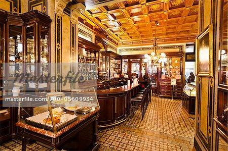 Cafe Demel, Vienna, Austria