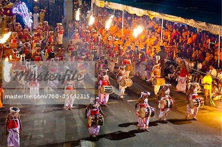 Drummers, Esala Perahera Festival, Kandy, Sri Lanka