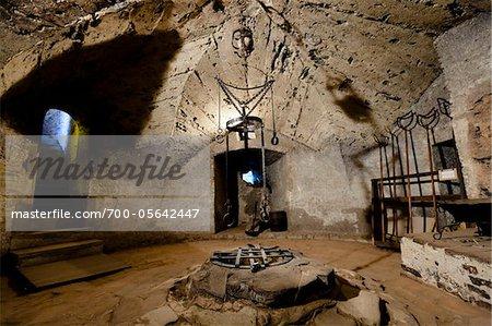 Torture Chamber, Golden Lane, Prague, Czech Republic