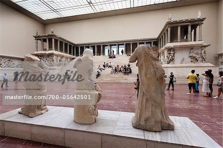 Pergamon Alter, Pergamon Museum, Museum Island, Berlin, Germany