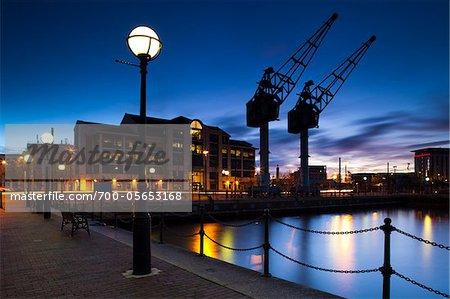 Salford Quays, Manchester, England