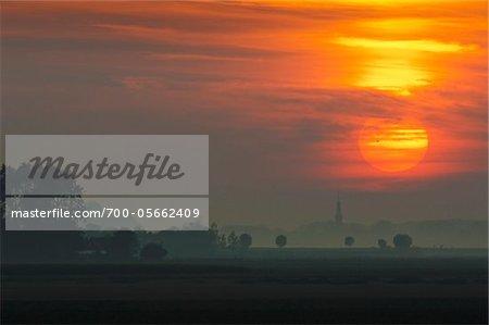 Sunset, Veere, Zeeland, Netherlands