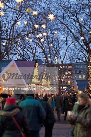 Chrismas Market, Cologne Neumarkt, Cologne, Germany