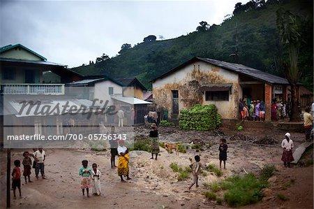 Village Scene, Madagascar