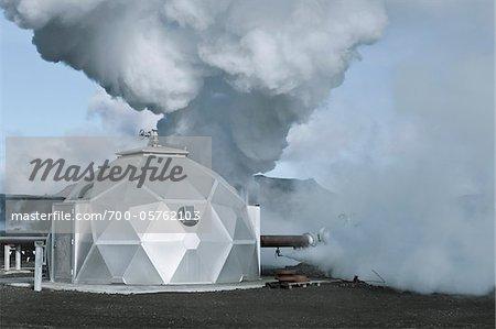 Hellisheidi Geothermal Power Station, Hengill, Iceland