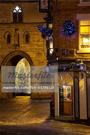 English Pub near Bailgate, Lincoln, Lincolnshire, England