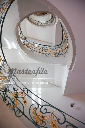 Spiral Staircase, Berlin-Mitte, Berlin, Germany