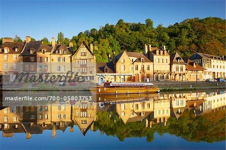 Dinan and Rance River, Cotes-d'Armor, Bretagne, France