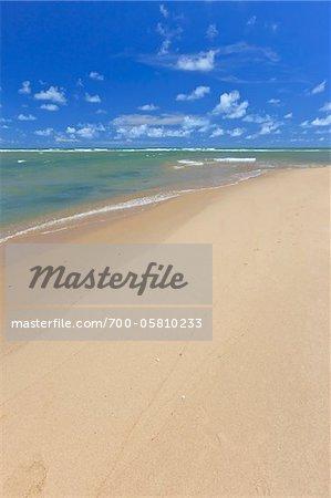 Praia da Barra de Gramame, Joao Pessoa, Paraiba, Brazil