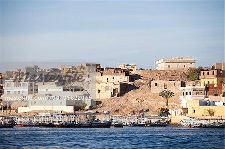 View of City, Edfu, Egypt