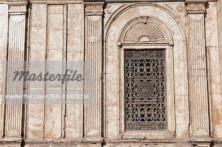 Detail of Mosque of Muhammed Ali, Saladin Citadel, Cairo, Egypt